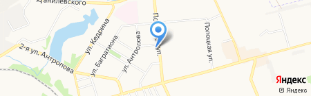 КБ ПриватБанк ПАО на карте Донецка