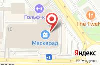 Схема проезда до компании Косметик КРОФТ в Старом Осколе