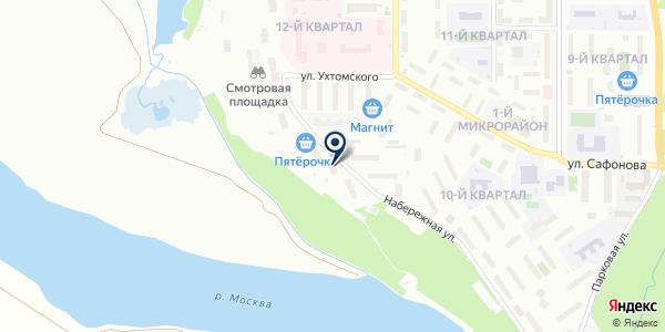 Мини-маркет на карте Лыткарино