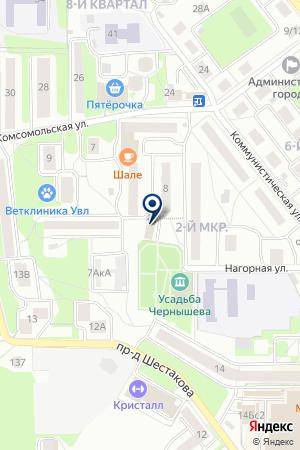 ДЕЗ Г. ЛЫТКАРИНО на карте Лыткарино