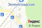 Схема проезда до компании Магазин фастфудной продукции в Зеленоградском