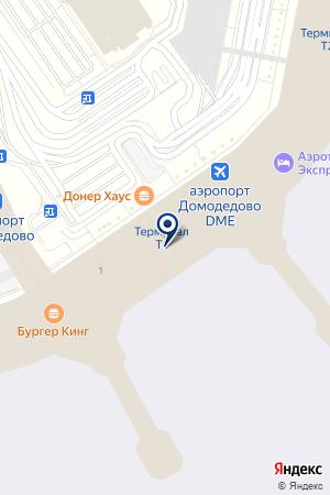 ОТЕЛЬ ДОМОДЕДОВО на карте Домодедово