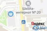 Схема проезда до компании Марлен в Донецке