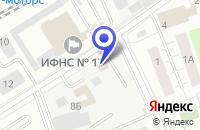 Схема проезда до компании ЭЛЬ-ПРАВО в Люберцах