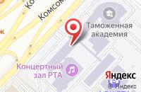 Схема проезда до компании Российская таможенная академия в Люберцах