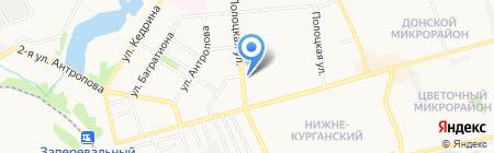 Донецкая специальная общеобразовательная школа-интернат I-II ступеней №20 на карте Донецка