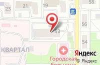 Схема проезда до компании Московское областное БТИ в Лыткарино