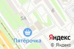 Схема проезда до компании Продукты из Казахстана в Старом Осколе