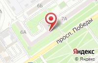 Схема проезда до компании МОЯ КРОХА в Старом Осколе