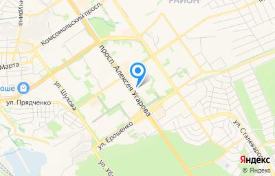 Местоположение на карте пункта техосмотра по адресу Белгородская обл, г Старый Оскол, мкр Королева, д 5Б