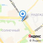 Юридический Центр Адвокатской палаты Белгородской области на карте Старого Оскола