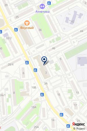 ПРОДОВОЛЬСТВЕННЫЙ МАГАЗИН ПЛАНЕТА МЕНЕДЖМЕНТ на карте Люберец