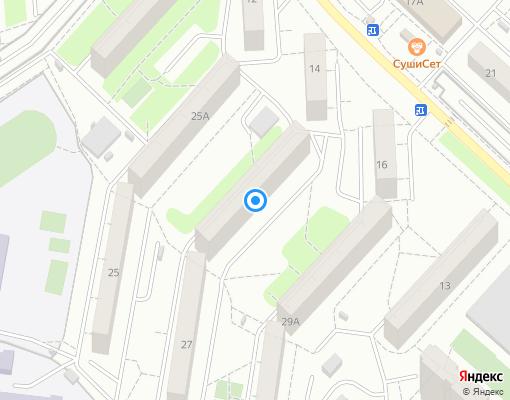 Жилищно-строительный кооператив «Мечта» на карте Люберец