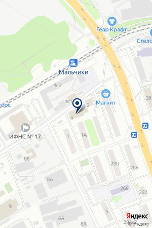 АкваДом на карте Люберец