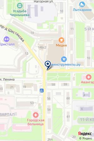 ПТФ АМКА на карте Лыткарино