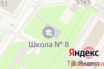Схема проезда до компании Средняя общеобразовательная школа №8 в Ивантеевке