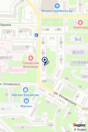 ОБЩЕЖИТИЕ МП ЖИЛСЕРВИС на карте Лыткарино