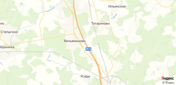 Ртищево на карте