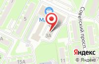 Схема проезда до компании Ивантеевское Информационное Агентство Московской Области в Ивантеевке