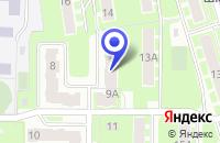 Схема проезда до компании СТРОИТЕЛЬНАЯ КОМПАНИЯ ИВСТРОЙ в Ивантеевке