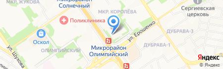 Союз-Шина на карте Старого Оскола