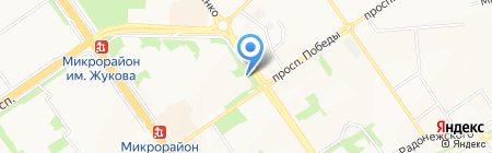 ЖЭУ №4 на карте Старого Оскола