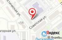 Схема проезда до компании Драгоценности Урала в Лыткарино