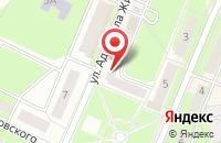 Схема проезда до компании Виктория в Ивантеевке