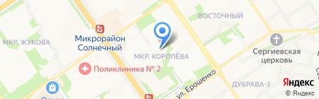Детский сад №11 Звездочка на карте Старого Оскола