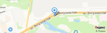 ТракСервис на карте Балашихи