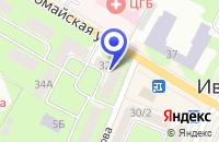 Схема проезда до компании НАЧАЛЬНАЯ ШКОЛА в Ивантеевке