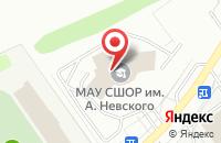 Схема проезда до компании Дворец спорта им. Святого Александра Невского в Старом Осколе