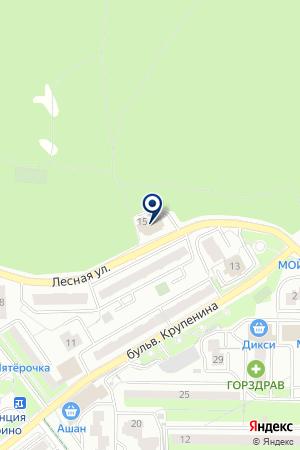 ТФ ШИНОМОНТАЖ-ЕВРО на карте Лыткарино