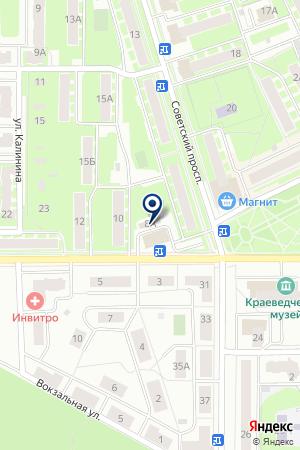 ТОРГОВАЯ КОМПАНИЯ БЕРИНГОВ ПРОЛИВ на карте Ивантеевки