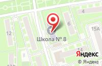 Схема проезда до компании Открытая (сменная) общеобразовательная школа в Ивантеевке