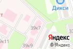 Схема проезда до компании Центральная городская больница в Ивантеевке