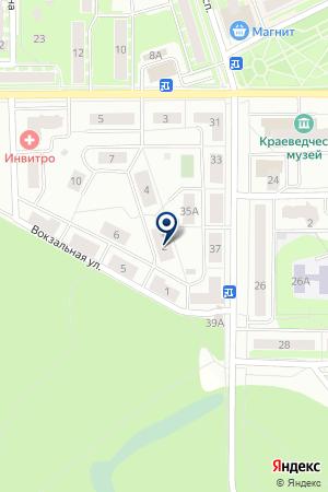 ИВАНТЕЕВСКИЙ КЛУБ СПОРТИВНО-СЛУЖЕБНОГО СОБАКОВОДСТВА на карте Ивантеевки