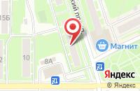 Схема проезда до компании Экспресс-А в Ивантеевке
