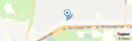 Техстройпроект на карте Балашихи