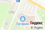 Схема проезда до компании Золотая Корона в Ивантеевке