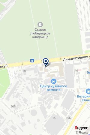 АВТОЭКСПЕРТНОЕ БЮРО САМПО на карте Люберец