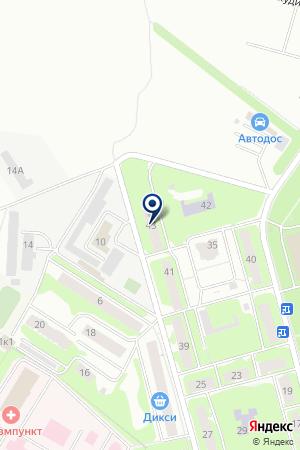 ОХРАННОЕ ПРЕДПРИЯТИЕ АРСЕНАЛ-2004 на карте Ивантеевки