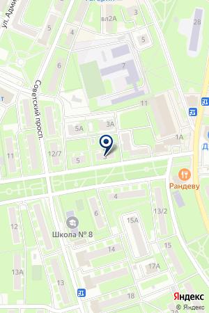 ТЕРРИТОРИАЛЬНАЯ СЛУЖБА ЖИЛИЩНОГО ХОЗЯЙСТВА ЦЕНТР на карте Ивантеевки