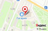 Схема проезда до компании Adidas в Ивантеевке