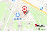 Схема проезда до компании solarX в Ивантеевке