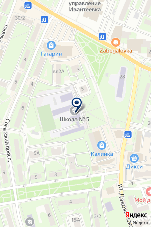 ХРАМ СМОЛЕНСКОЙ ИКОНЫ БОЖИЕЙ МАТЕРИ на карте Ивантеевки