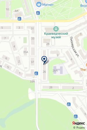 ОТДЕЛ ПО ЗЕМЛЕПОЛЬЗОВАНИЮ на карте Ивантеевки