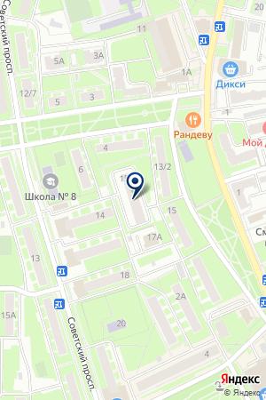 САЛОН КРАСОТЫ ЮЛИЯ на карте Ивантеевки