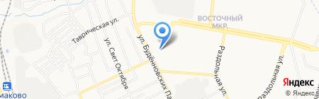 КРАСИВЫЙ ДОМ на карте Донецка