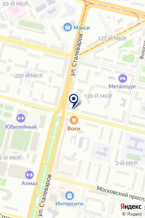 МАГАЗИН ХОЗТОВАРОВ ПАРНИКОВАЯ ПЛЕНКА1 на карте Череповца